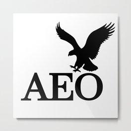 AEO EAGLE Metal Print
