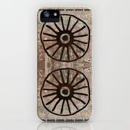Simbologia Tribal 1 (Islas Canarias) iPhone Case