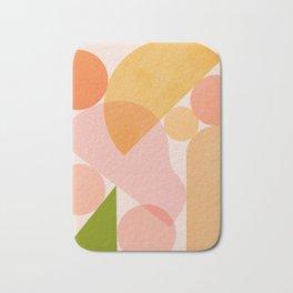 Abstraction_SHAPES_COLOR_Minimalism_002 Bath Mat