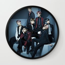 BTS 2018 Wall Clock