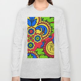 African Style No5 Long Sleeve T-shirt