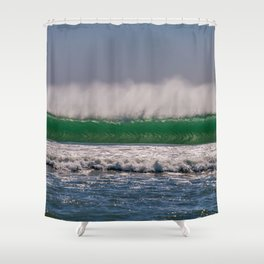 Offshore Wall Shower Curtain