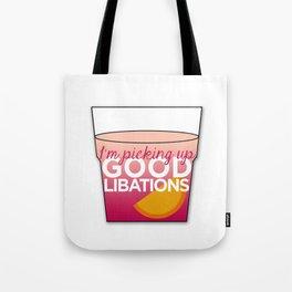 Good Libations Tote Bag