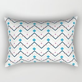 Zig Zag pattern design Rectangular Pillow