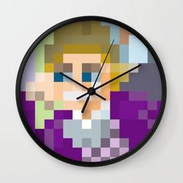 Gene Wilder Pixel Art Wall Clock