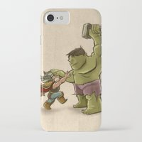 childish gambino iPhone & iPod Cases featuring Childish Heroes by TheMaddhattR