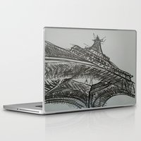 eiffel Laptop & iPad Skins featuring Eiffel by Esteban Garza