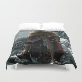 Dragon Age - Alistair Theirin - Winter Duvet Cover