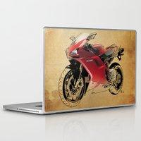 ducati Laptop & iPad Skins featuring Ducati 1098 S by Larsson Stevensem