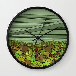The Overpass - Fall Wall Clock