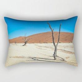 Dead Trees and Dunes Rectangular Pillow