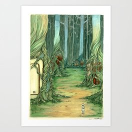 What Trees Do Art Print