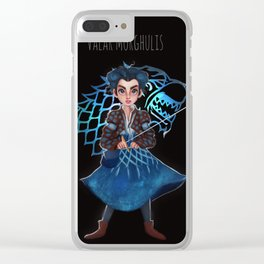Valar Morghulis Clear iPhone Case