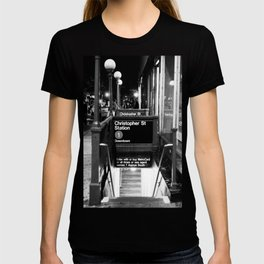 Christopher St. Station. West Village. New York, NY. 2014. T-shirt