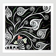 Night Blooming Art Print