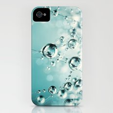 Cactus Candy Blue iPhone (4, 4s) Slim Case