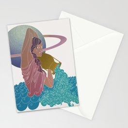 Aquarius #2 Stationery Cards