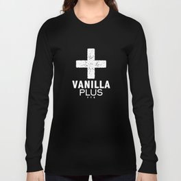 Vanilla + Long Sleeve T-shirt