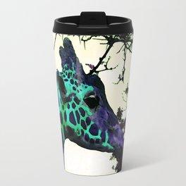 Alien Giraffe Has Landed Travel Mug