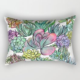 Succulent Sorceress Rectangular Pillow