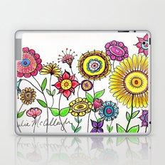 Bright Flowers Laptop & iPad Skin