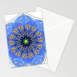 Mandala fishes Stationery Cards