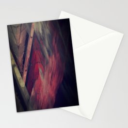 Pyramid Ablaze  Stationery Cards