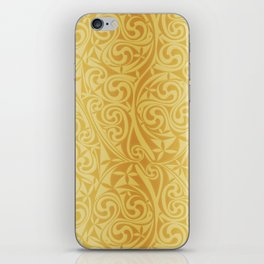 Celtic Warlord gold iPhone Skin