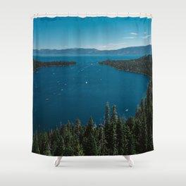 Lake Tahoe V Shower Curtain