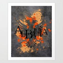 albania  Art Print