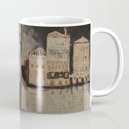 Venice in Black Coffee Mug