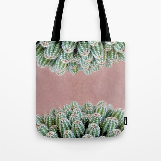 Double Cactus Tote Bag