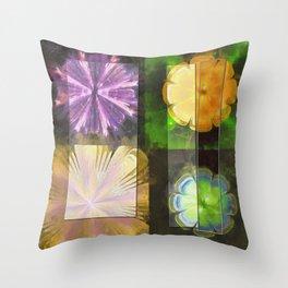 Feaster Truth Flower  ID:16165-131553-09981 Throw Pillow