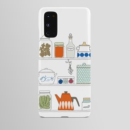 Scandinavian Pantry Android Case