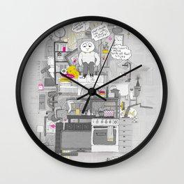 Crap Stuff Wall Clock