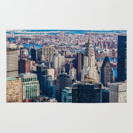 Midtown from top (HDR Color) Rug