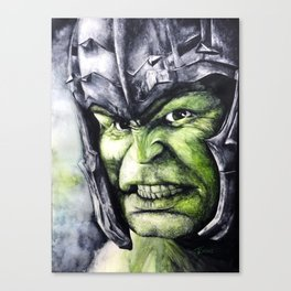 SMASH: The Hulk Canvas Print
