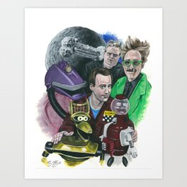 In The Not-Too-Distant Future Art Print