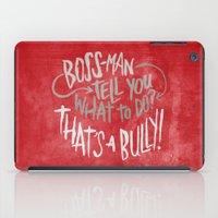 tim burton iPad Cases featuring Tim Fite by Josh LaFayette