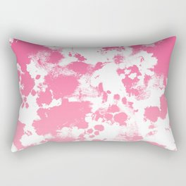 Piper - abstract ombre minimal pink fade hot pink neon girly trendy art minimal design Rectangular Pillow