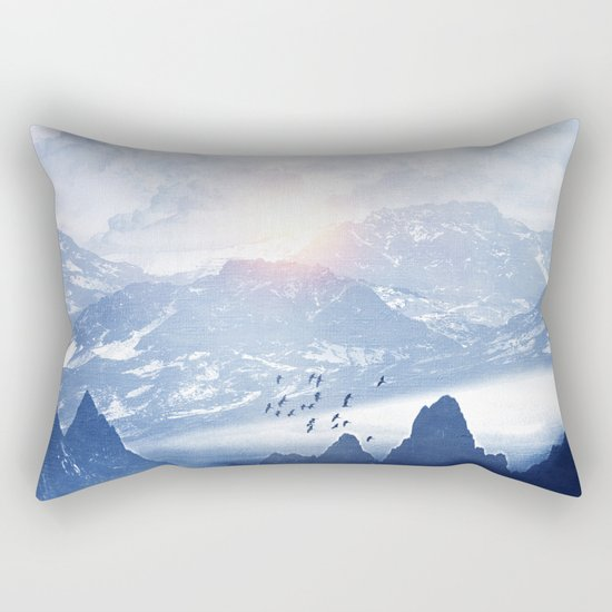 Winter. Melody... Rectangular Pillow
