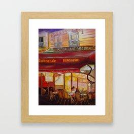 Paris Night Framed Art Print