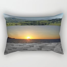 The Landscape Rectangular Pillow