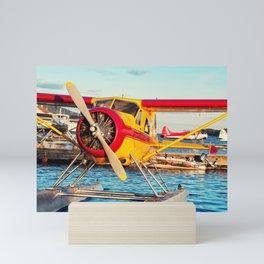 Ketchikan Seaplane Docks Mini Art Print
