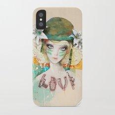 War girl iPhone X Slim Case