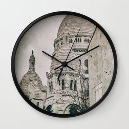 BASILICA OF THE SACRE-COEUR (Old plate camera) Wall Clock