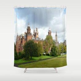 Kelvingrove Art Galleries and Museum  Shower Curtain