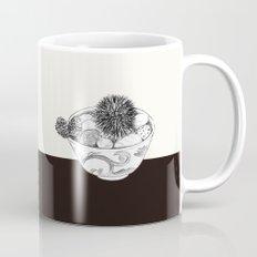 Chestnut Burr & Pottery Mug
