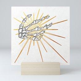 Skeleton Hand Inktober :: Dreadful Fairy Tales Mini Art Print