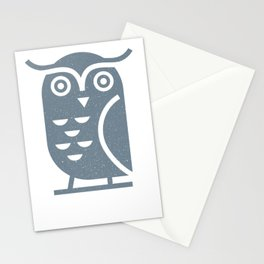 Owl II Stationery Cards